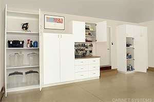 customized garage storage
